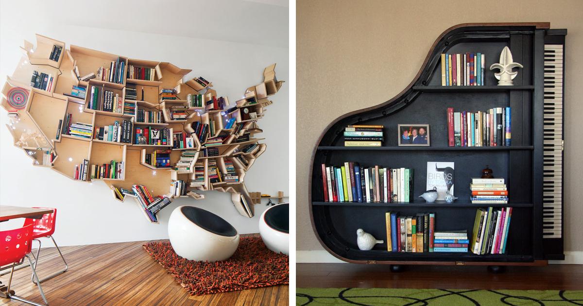 living room bookshelf decor ideas