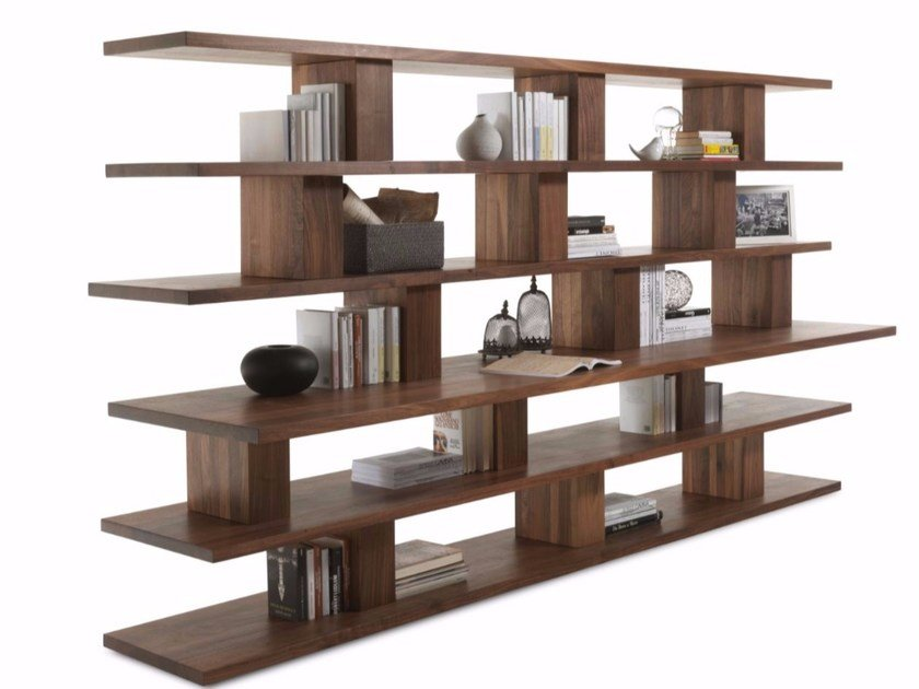 living room corner shelving