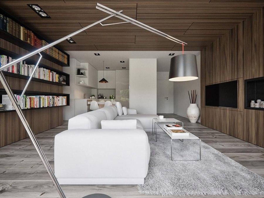 living room with signature lighting ideas