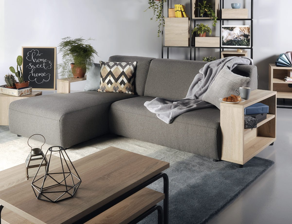 sofa cama grey color