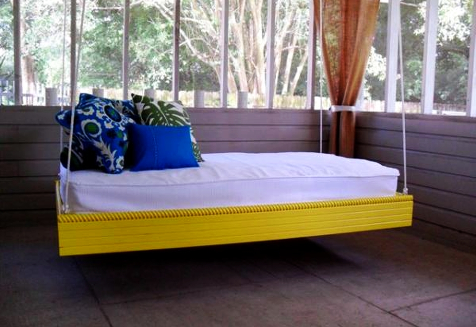 swing bed ideas floating sofa design