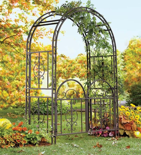 wrought iron gate ideas