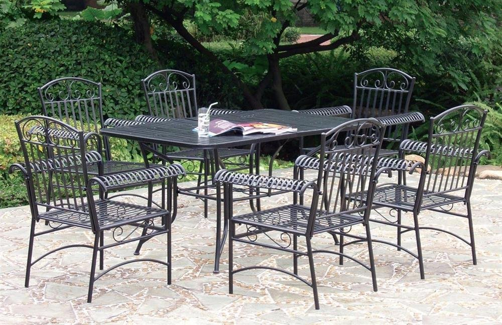 wrought iron outdoor furniture patio
