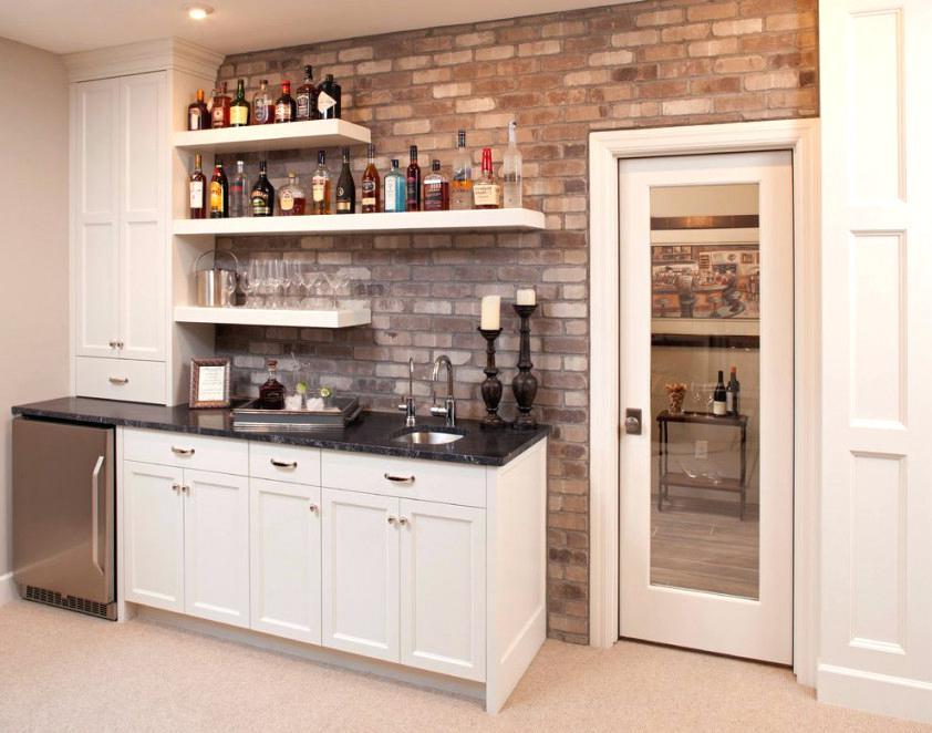 bar shelf ideas home bar design