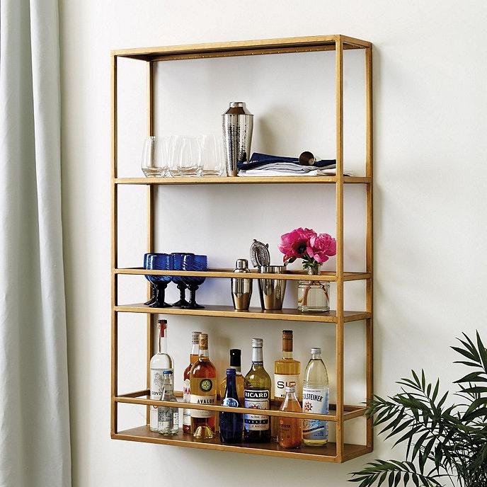 bar shelves simple design