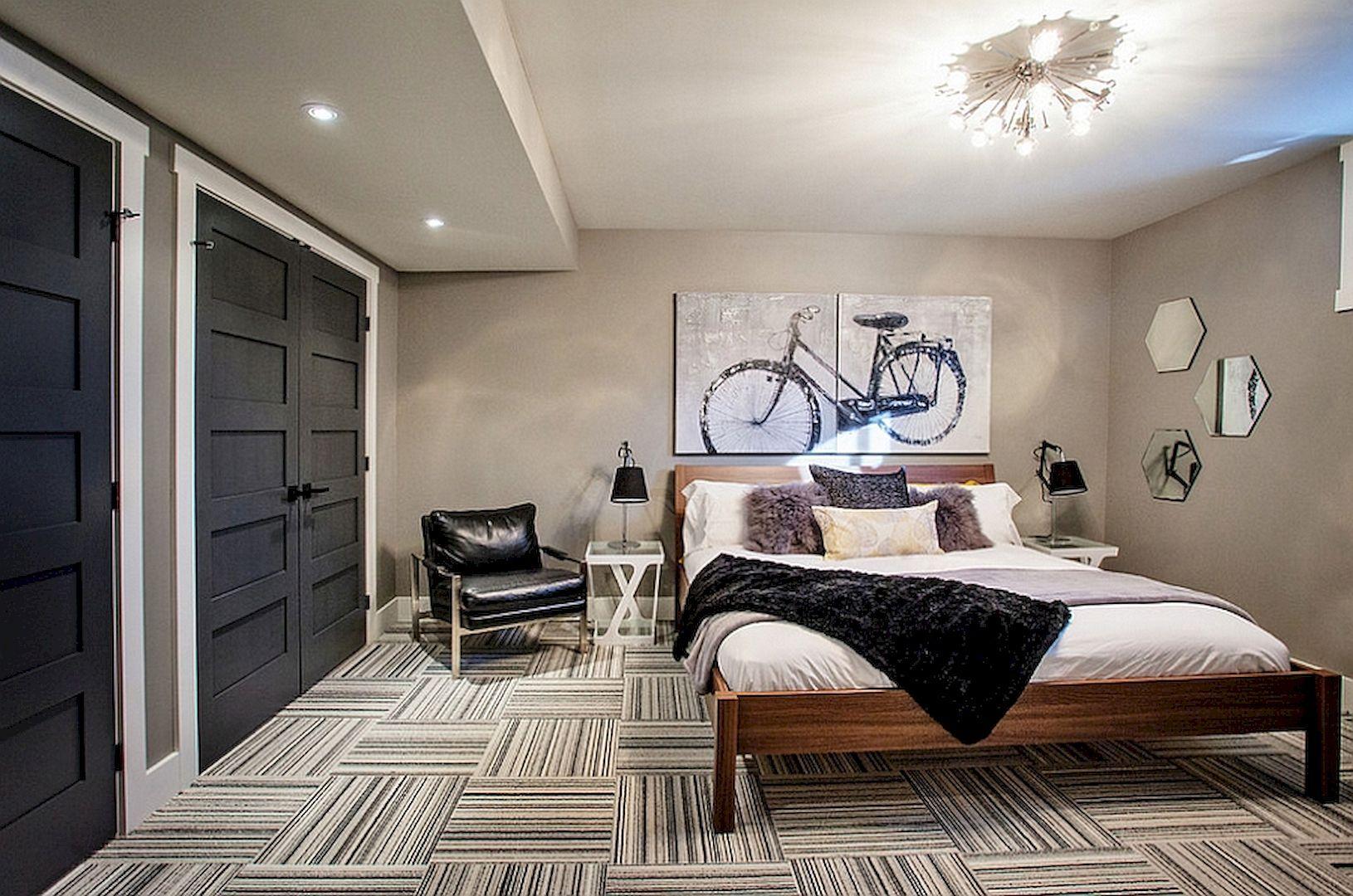bedroom with den design