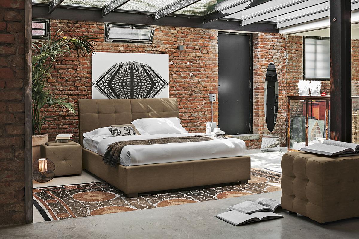 brick wall design bedroom ideas