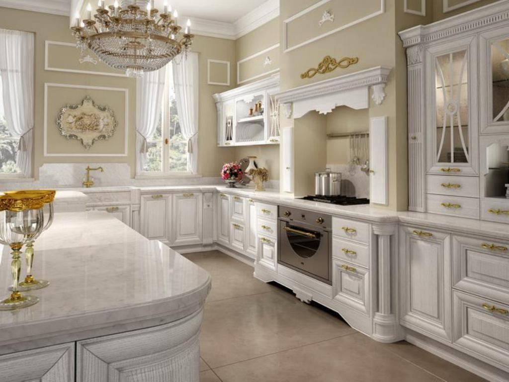 classic white cabinetry kitchen room ideas