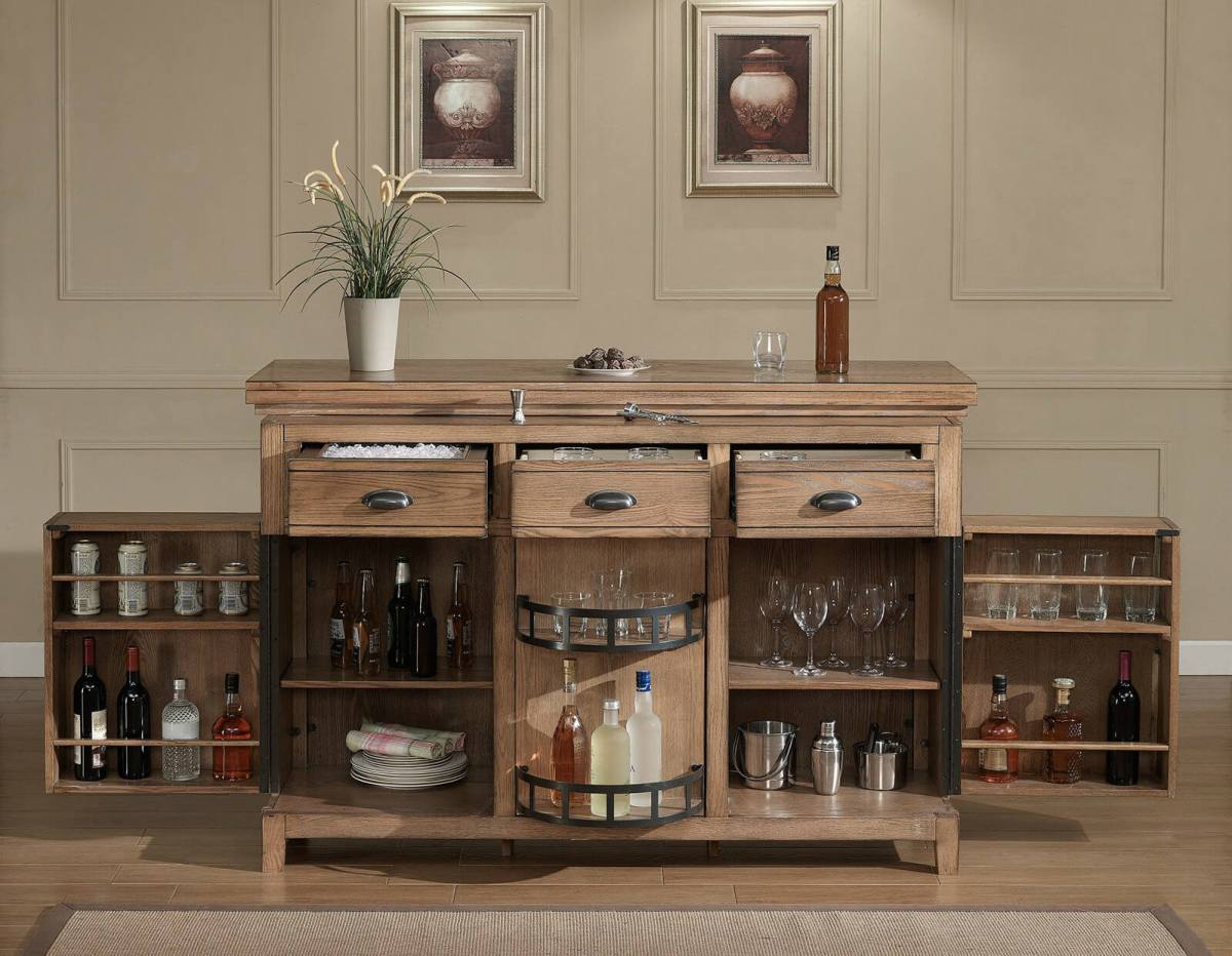 home bar table cabinet