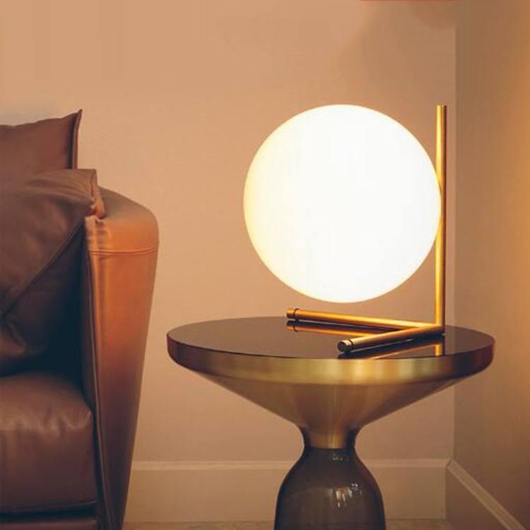ball table lamp geometry