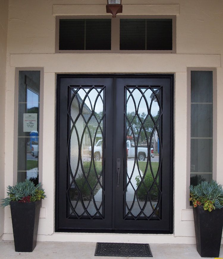 coated steel doors