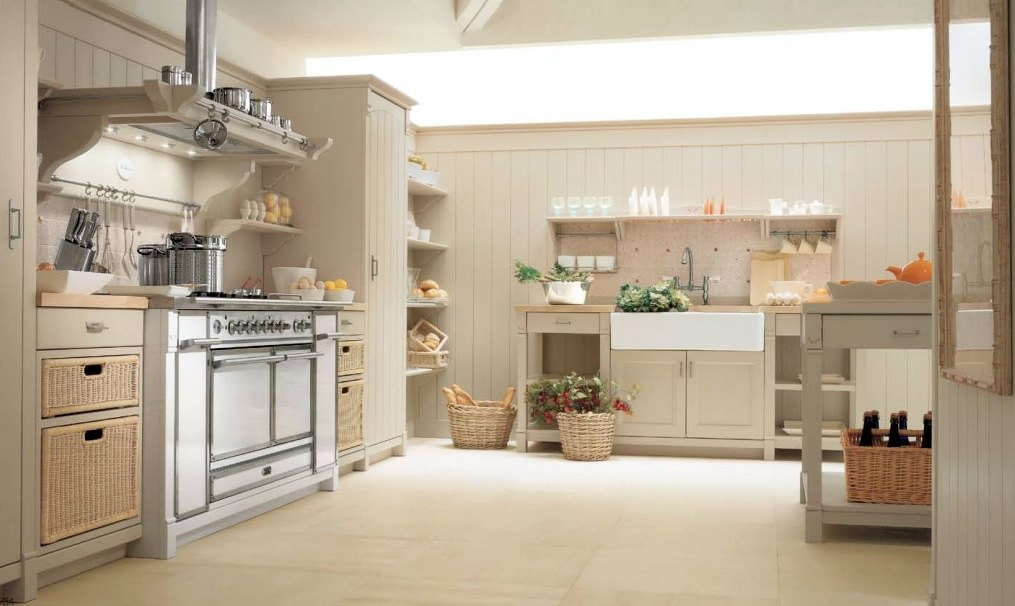 country house italian kitchen