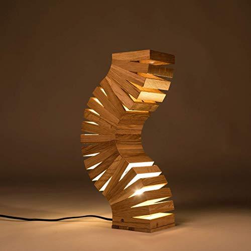 creative wooden lamp