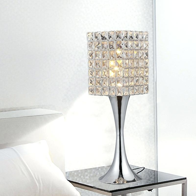 crystal table lamps ideas