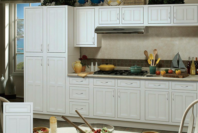double kitchen cabinets