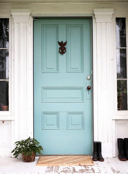 fiber colorful doors ideas