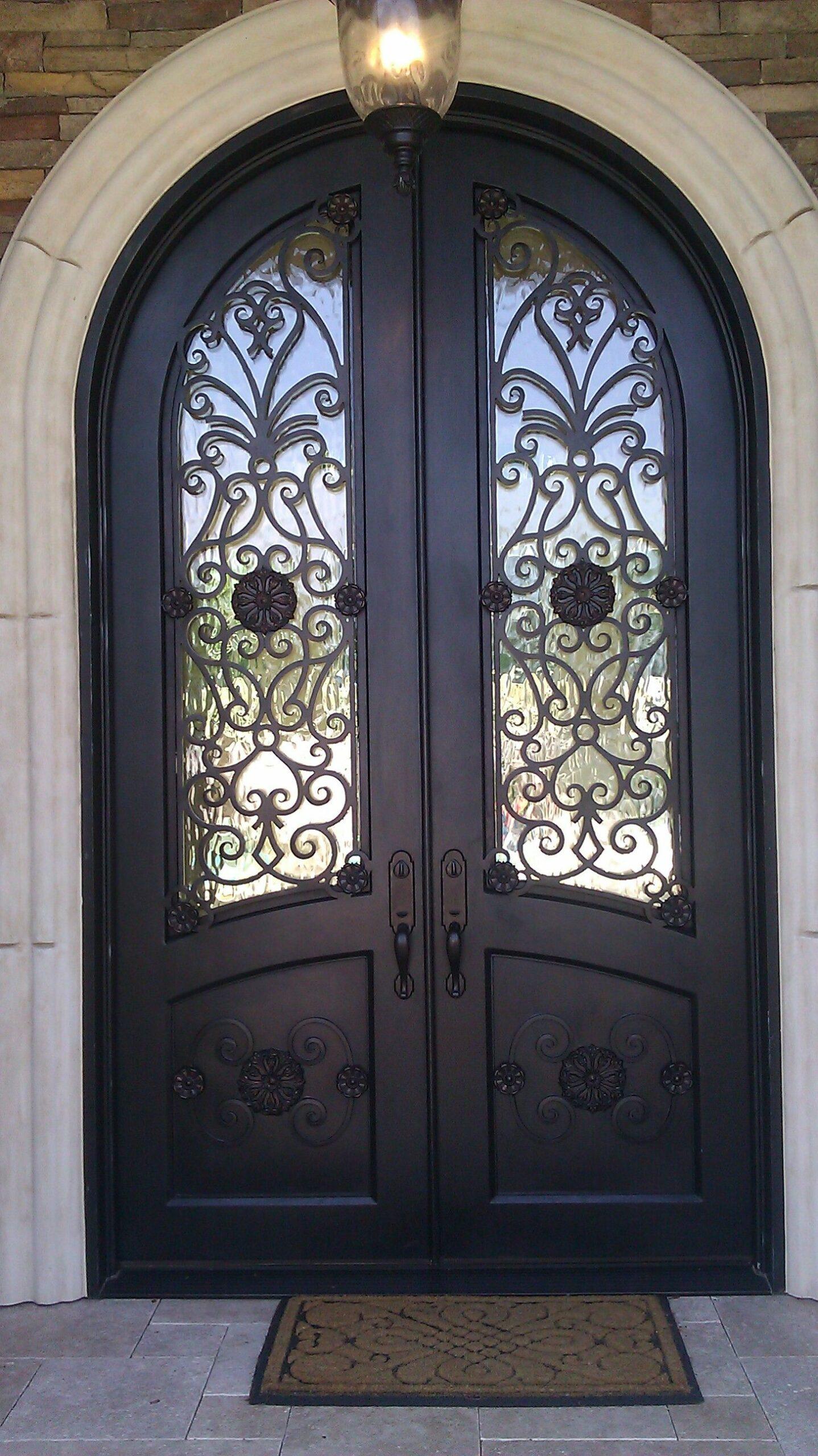 metal design doors