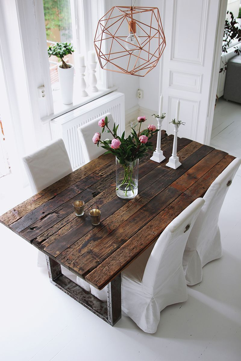 rustic Design With Wooden and White color