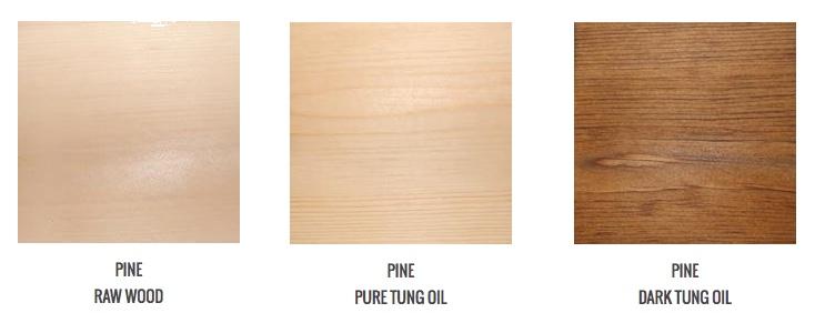 tung oil color ideas