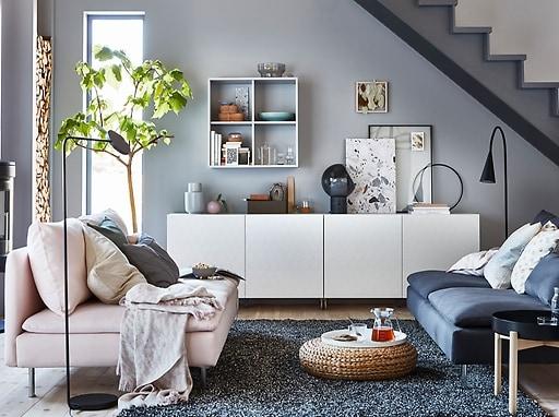 minimalist living room table
