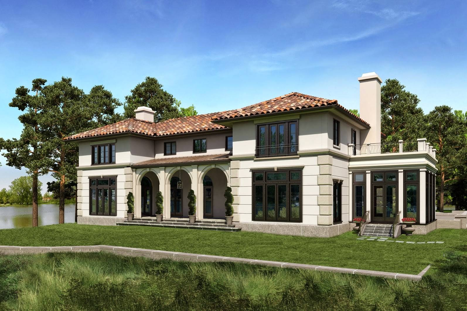 house model mediterranean style