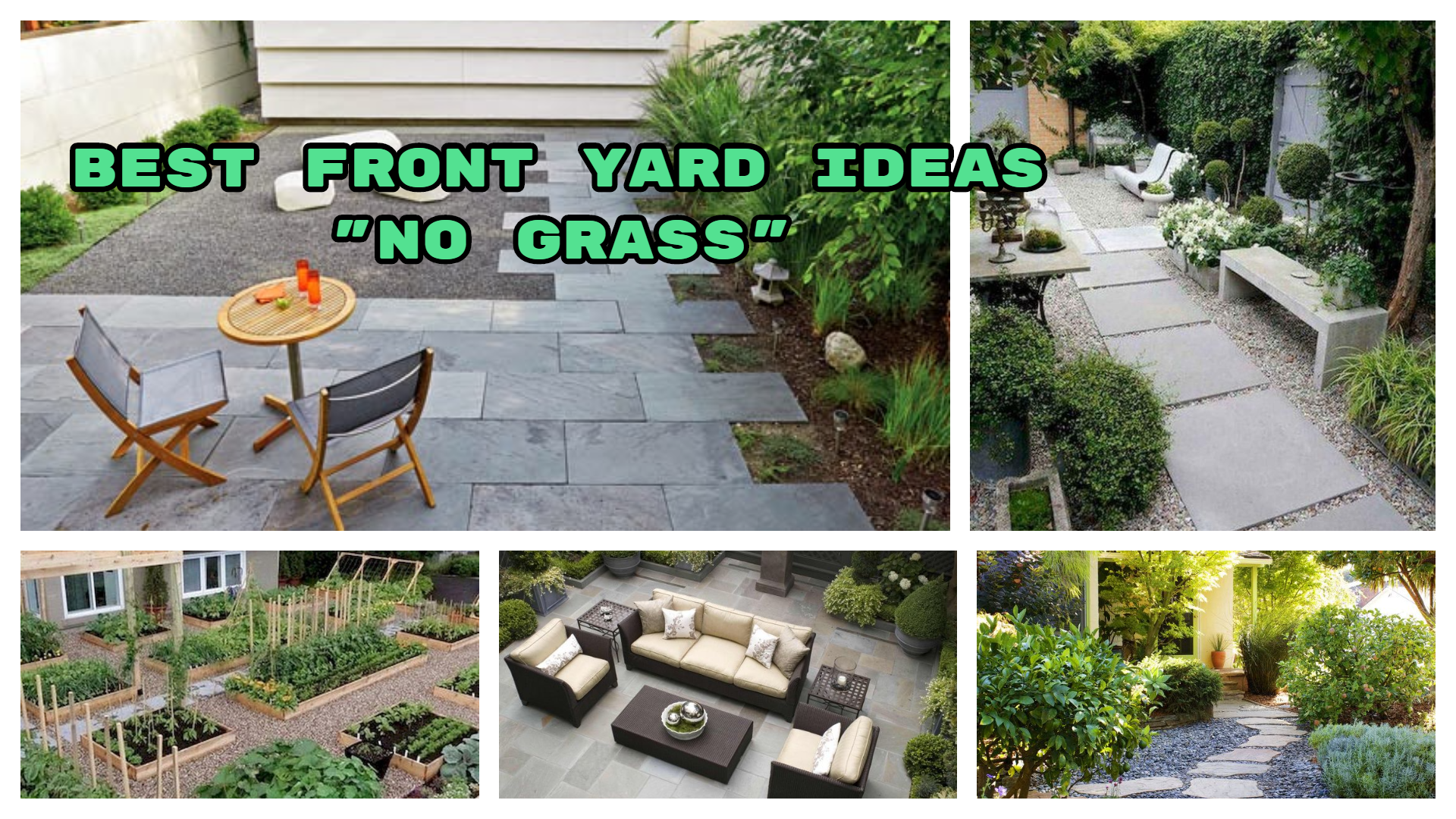 Front Yard Ideas No Grass