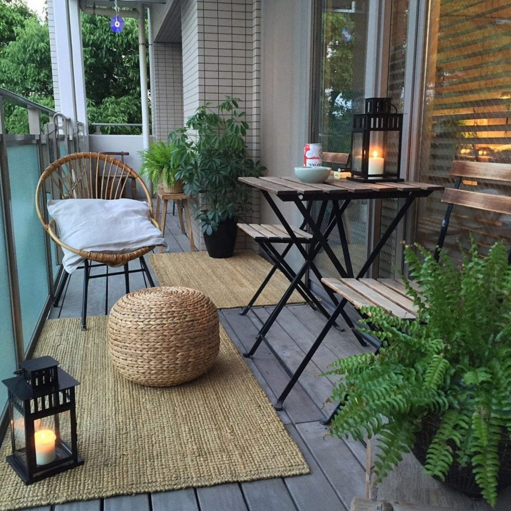 Small Apartment Patio Ideas