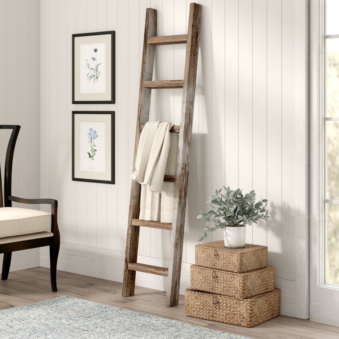 small wooden ladder for crafts