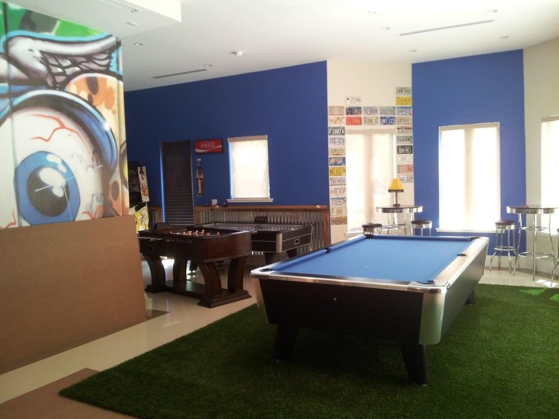 pool table room decor ideas