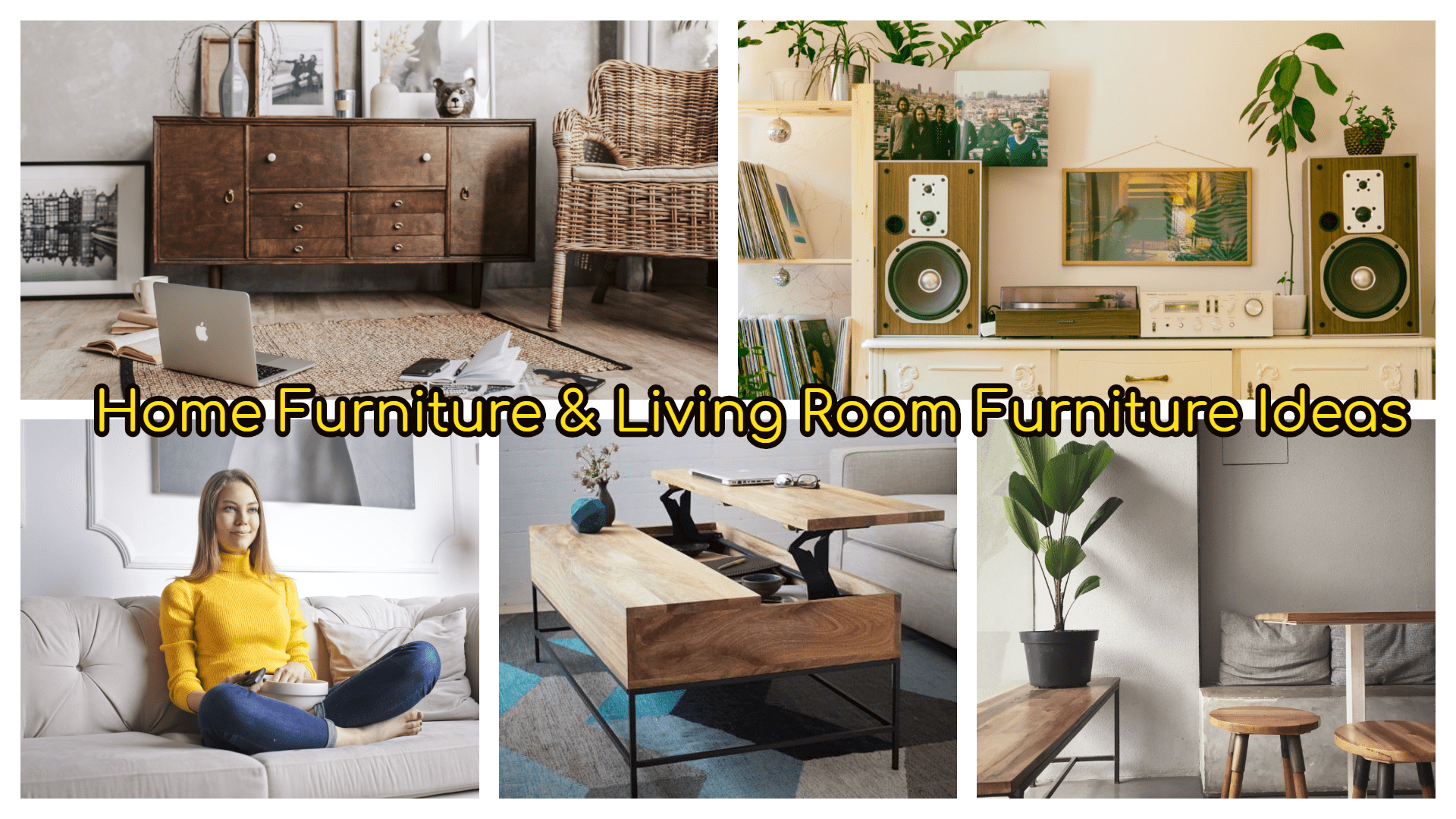Home Furniture and Living room furniture ideas