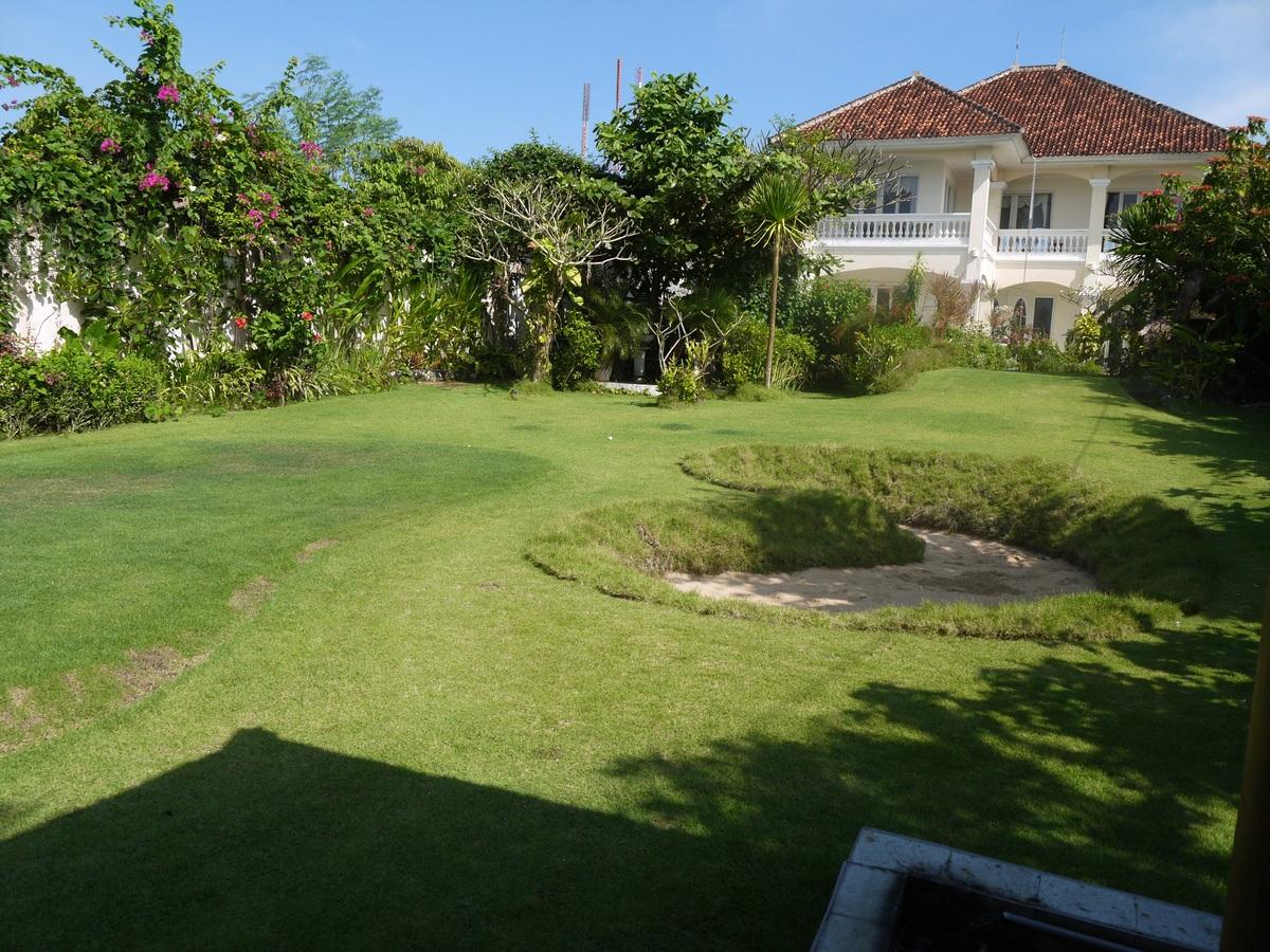 grass structure lawn villa mansion home