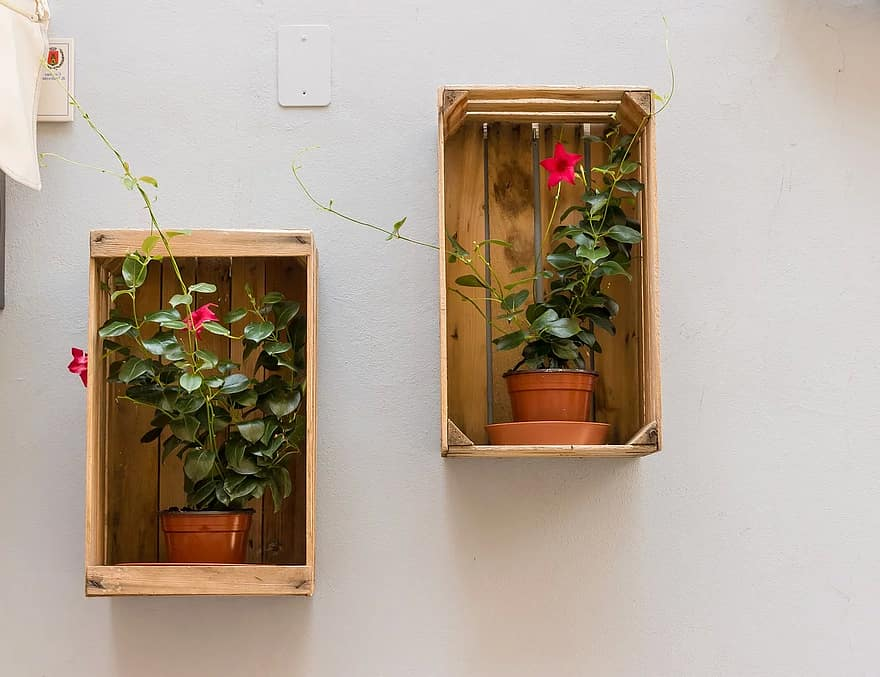 flowerpot box wall decoration flower pots country house style rustic creativity frame