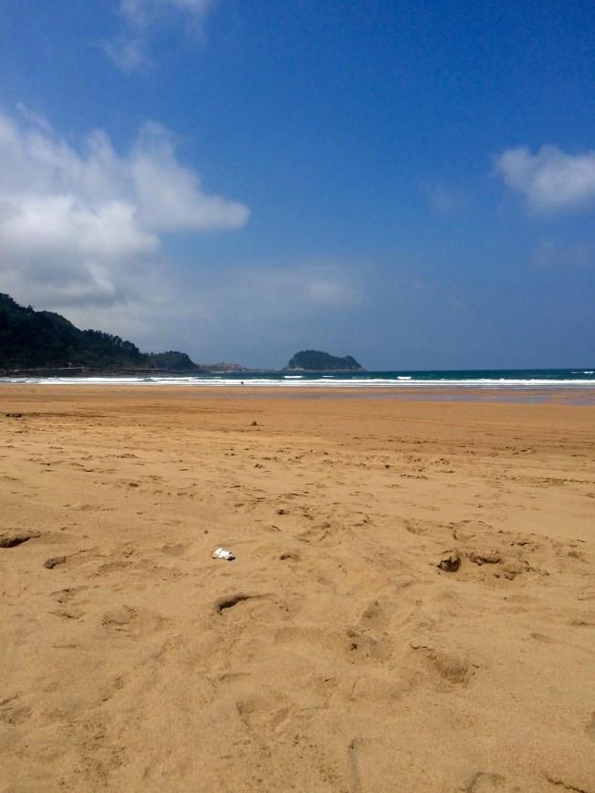 zarautz beach