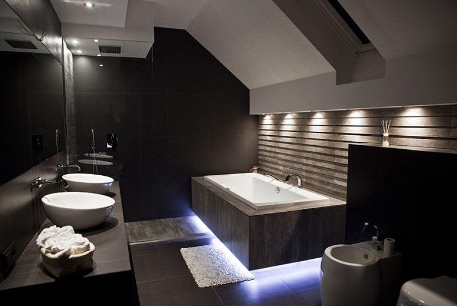 Bao oscuro minimalista y moderno