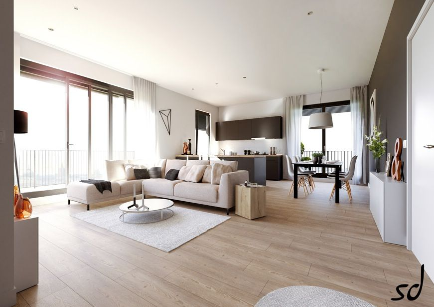 Open plan o Concepto abierto en la decoracin de casas