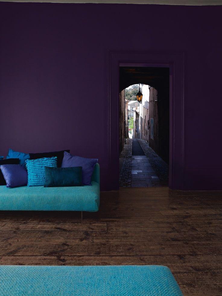 7 fotos de salas moradas un color moderno para tu saln