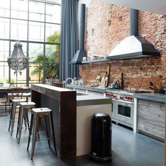 Consigue una cocina inspirada en un bar o pub