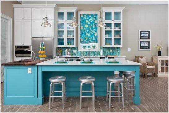 39 MEJORES fotos de cocinas azules modernas pequeas