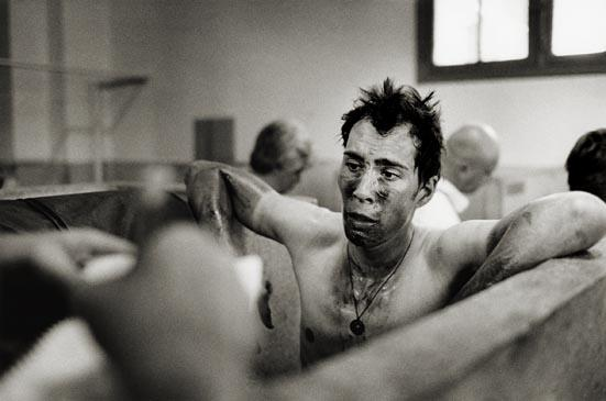 Pedro Horrillo photographed by Timm Kölln after competing in Paris-Roubaix