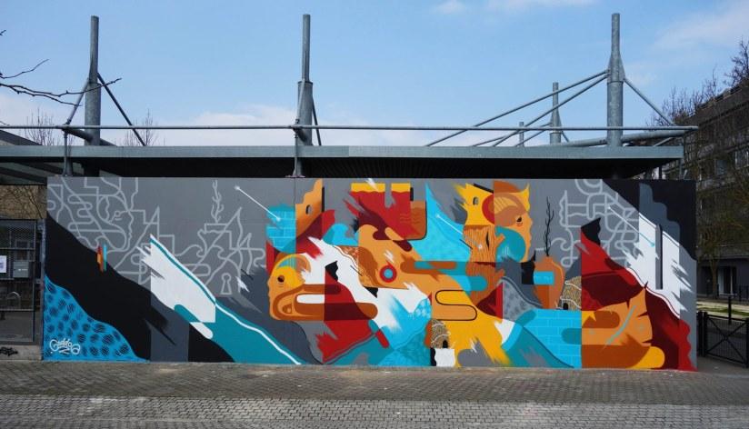 GoddoG mural from Bordeaux