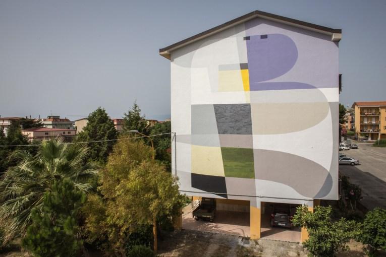 Gue mural in Catanzaro Italy
