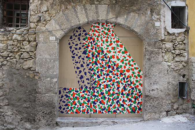 MOMO mural from Sicily