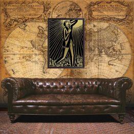 Frans Masereel wall art, poster
