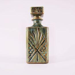 Liqueur Carafe, decorative bottle, decoupage bottle, kitchen decor, bar decor