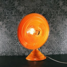 vintage heater, vintage heater lamp, 80's lamp, retro lamp, upcycle lamp, upcycled lamp