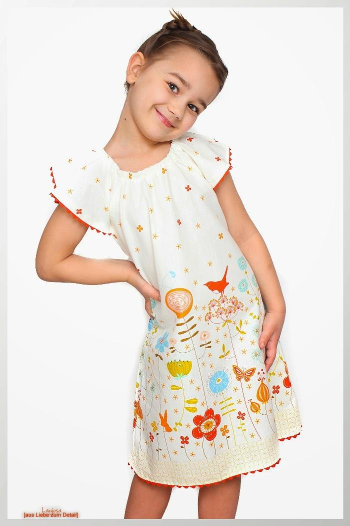 Bendixa Bluse als Kleid nähen Schnittmuster farbenmix Sommerkleid ...