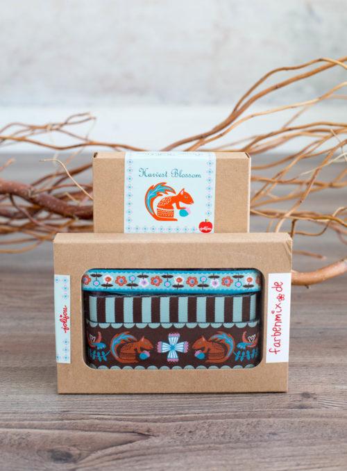 Harvest Blossom braun Webbänder verschönern DIY Projekte Farbenmix Designer Kollektion