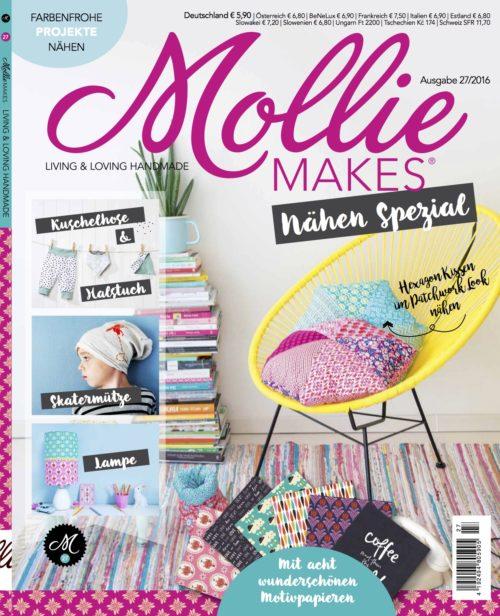 Cover Mollie Nähen jOlijou Portrait