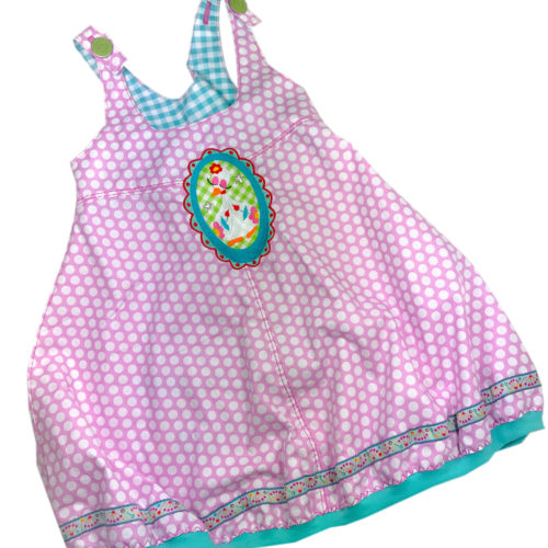 Rosalie - Kleider aus Webware - farbenmix - Schnittmuster glitzerblume