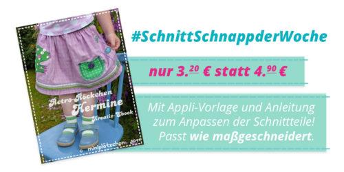 SchnittSchnappderWoche - Hermine - Ebook mit Applikationsvorlage - Farbenmix
